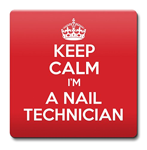 [Keep Calm I'M A Nail Technician Coaster - Coffee Cup Gift Idea Pre...] (Kustom Nail)