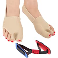 Orthopedic Bunion Corrector | Bunion Relief | Bunion Splint | Big Toe Straightener with Bunion Pads - Bunion Corrector Sleeve, Hallux Valgus, Bunion Bootie with Toe Spacers for Bunions