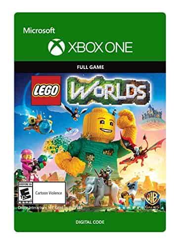 Lego Games For Xbox 1 : Amazon lego worlds xbox one video games