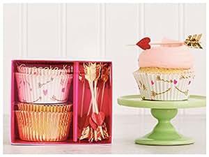 Meri Meri Hearts and Arrows Cupcake Kit