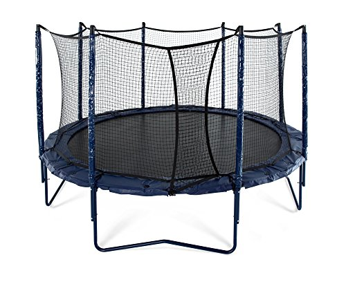 JumpSport 14' Elite PowerBounce | Includes Trampoline, Safety Enclosure, PowerBounce Springs | Superior Quality, Easy-Up Net Installation | Adjustable PowerBounce Springs for the Entire Family