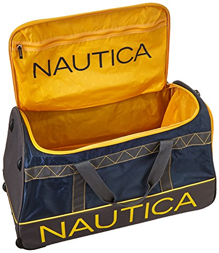 nautica dockside 30 inch wheeled duffle and 22 inch duffle