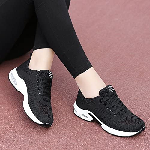 FLARUT Running Shoes Womens Lightweight Fashion Sport Sneakers Casual Walking Athletic Non Slip 12