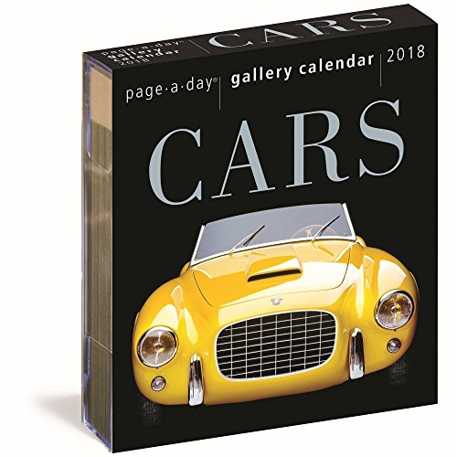 Cars 2018 Page-A-Day Gallery Calendar