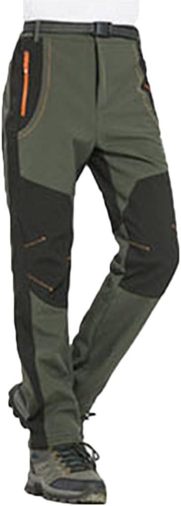Pantalon Para Hombre Resistente Al Agua Micosuza Softshell Pantalon Montana Ocio Pantalones De Trekking Calido Resistente Al Viento Hombre Acampada Y Senderismo