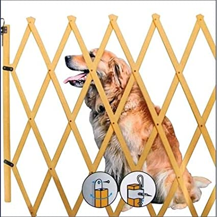 Treppenschutzgitter ausziehbar bis 108cm - Höhe ca. 85 cm - Hundegitter Hundeabsperrgitter Spetebo
