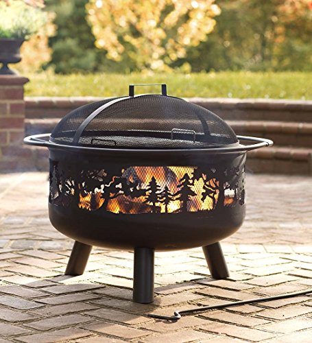 Plow & Hearth Timberline Wood-Burning Fire Pit