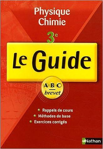 Télécharger en ligne Physique Chimie 3e epub, pdf