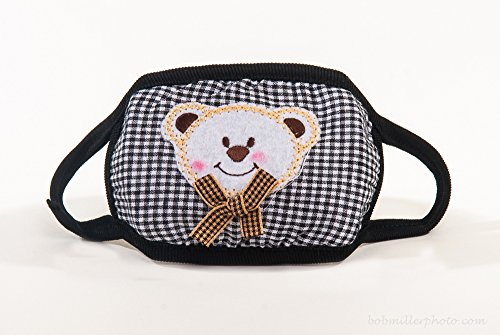 Smiling-Bear-with-Gingham-Ears-ColdFlu-Mask-Colors-May-Vary