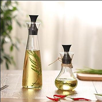 öl Essig Spender xizi glasflasche olivenöl spender essig spender öl essig cruet