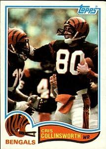 1982 Topps Football Rookie Card #44 Cris Collinsworth Near Mint/Mint
