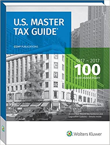 Us master tax guide 2017 cch tax law editors 9780808043645 us master tax guide 2017 100th edition fandeluxe Images