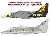 CARCD48070 1:48 Caracal Models Decals - Brazilian Navy AF-1 (A-4M) Skyhawk