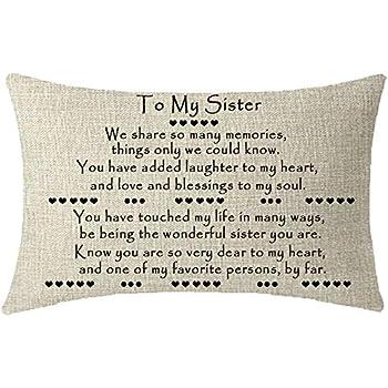 Amazon.com: ITFRO Bonito regalo para hermanas amigas con la ...