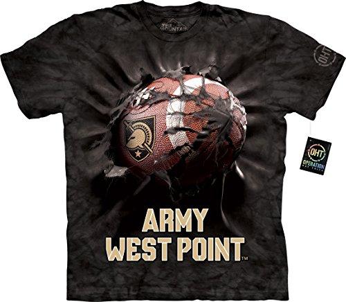 The Mountain Men's Us Military Academy Army Football Breakthrough, Black, M ()