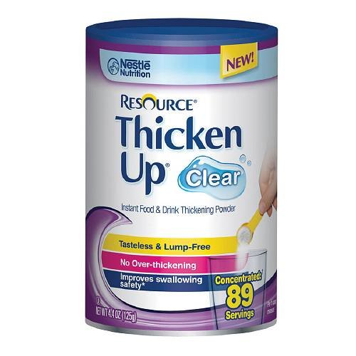 Resource ThickenUp, 89 Servings, Clear 4.4 oz by resource