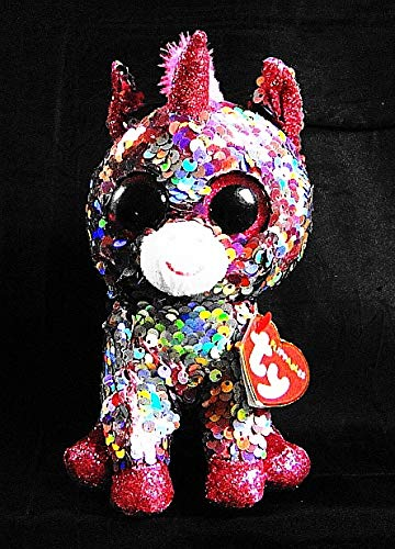 ac6e32d305e Amazon.com  Ty FLIPPABLES 2018 Sparkle The Unicorn 6