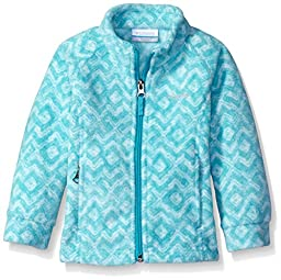 Columbia Big Girls\' Benton Springs Ii Printed Fleece, Miami Zig Zag, Large (14/16)