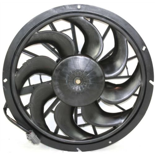 Auto Shroud Motor Fan Cooling (MAPM Premium VOLVO 850 93-97 RADIATOR FAN and MOTOR ASSEMBLY, USA Built)