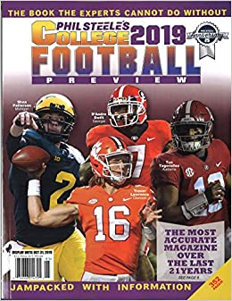 Phil Steele's 2019 College Football Preview - National Cover: Phil