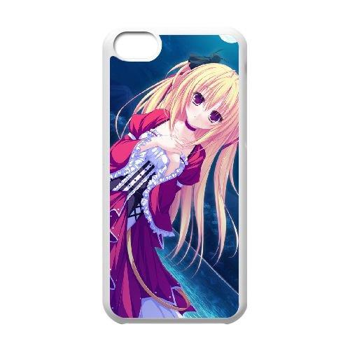 Sylvia Luna Infinitus coque iPhone 5c cellulaire cas coque de téléphone cas blanche couverture de téléphone portable EEECBCAAN08761