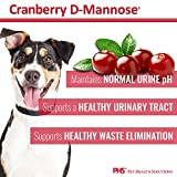 Cranberry D-Mannose Urinary Tract Support - Bladder Health Supplement for Dogs and Cats - 60 Tablets