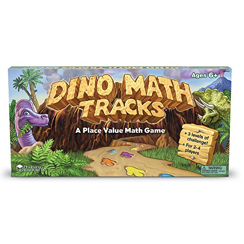 51F8DC%2BXxfL - Learning Resources Dino Math Tracks Game