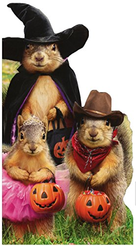 Squirrel Trick Or Treaters - Avanti Halloween