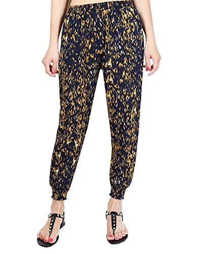 Casual Libre Linterna Pantalones Floreadas Harem Hippie Joven Elásticos Cintura 11 Mujer Tiempo Colour Verano Anchas Elegantes Women Fashion De Alta Bastante Vintage 4gqUxntwdZ