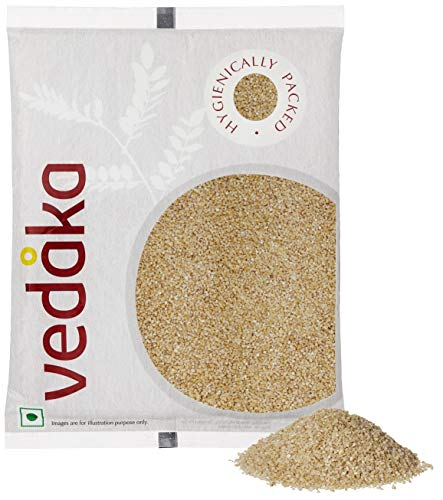 Amazon Brand – Vedaka Dalia (Broken Wheat), 500g (Pack of 1)