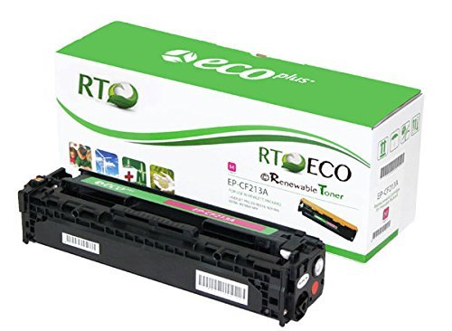 Renewable Toner 131A CF213A Magenta Compatible Toner Cartridge for HP Laserjet Color Printers 200 M251n M251nw M276n M276nw