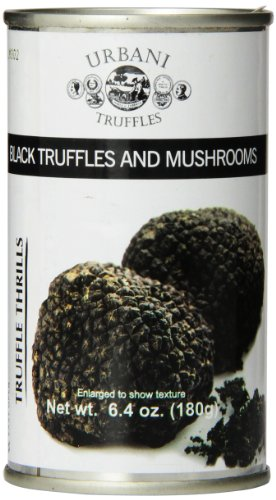 - Urbani Truffles Truffle Thrills, Black Truffles and Mushrooms, 6.4 Ounce Can