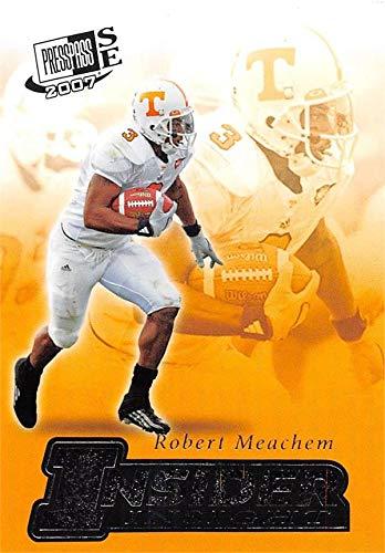 Robert Meachem football card (Tennessee Volunteers) 2007 Press Pass SE Insider Insight Rookie #II19