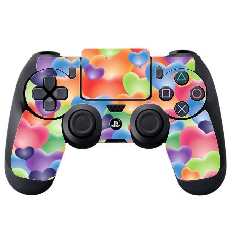 sticker-skin-print-pastel-colored-hearts-random-pattern-printed-design-ps4-dualshock4-controller-vin
