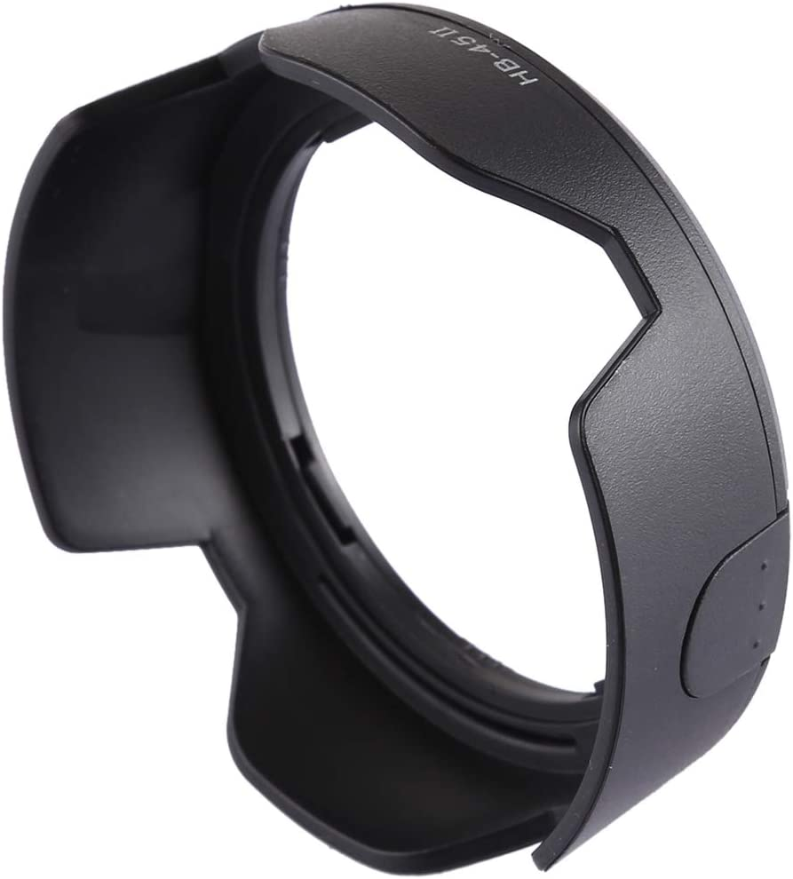 HUANGMENG Protective Accessories HB-45II Lens Hood Shade for Nikon AF-S NIKKOR 18-55mm DX//Nikon AF-S DX NIKKOR 18-55mm f//3.5-5.6G VR Lens HUANGMENG