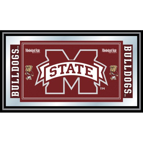 (NCAA Mississippi State University Framed Logo Mirror)