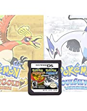 $27 » Pokemon HeartGold&SoulSilve Version Games Card Cartridge 2 in 1 Compatible with Nintendo DS/2DS/3DS/DSI/2DSXL/3DSXL (Not Support Above Version 11.0) - Reproduction Version