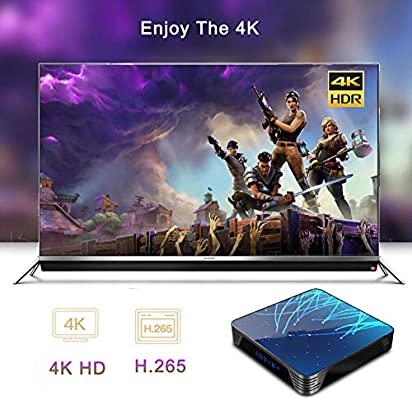 LTLZCY Android 9.0 TV Box[4GB RAM+64GB ROM] RK3368 Octa-Core 64Bit Cortexa53, Android TV Box WiFi 2.4G/5G, Ultra HD 4K, USB 3.0, BT 4.0 Smart TV Box,4g+128g,USPlug: Amazon.es: Hogar