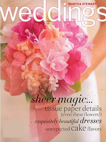 Martha Stewart Weddings Amazoncom Magazines