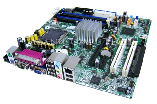 (Genuine HP/Compaq 365865-001 Motherboard Logic Board For Compaq DC7100 Systems Intel 915G Express DDR1 P4 Pentium 4 Socket LGA775 HP/Compaq Part Numbers: 365865-001, 350929-001, 350930-000)