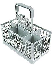 Dishwasher Basket for Bottle Dishwasher Utensil Cutlery Basket Fit for Kenmore, Whirlpool, Bosch, Maytag, KitchenAid, Maytag, Samsung, GE 9.45x 5.5x 4.7 Inch Dishwasher Silverware Basket