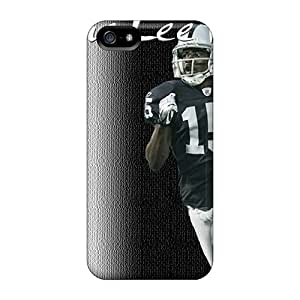 Cute High Quality Iphone 5/5s Oakland Raiders Case
