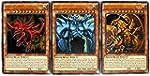 YuGiOh Legendary Decks II Ultra Rare Yugi s God Card Set LDK2 ENS01 LDK2 ENS02 & LDK2 ENS03 [Slifer Obelisk & Ra]