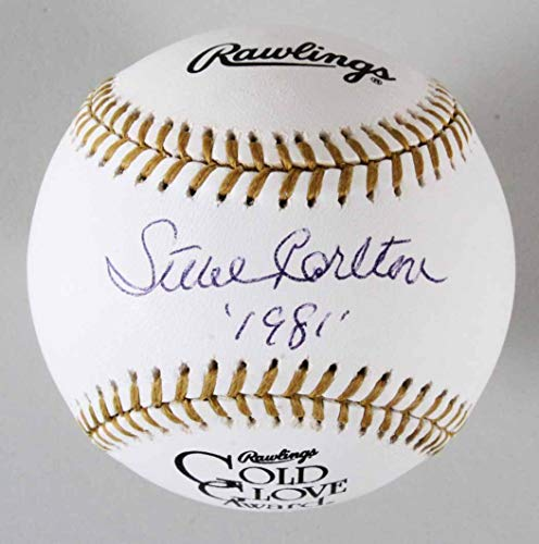 (Steve Carlton Signed Baseball Phillies - COA PSA/DNA)