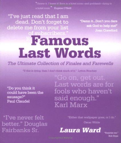 Download Famous Last Words ebook