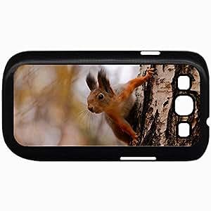 Fashion Unique Design Protective Cellphone Back Cover Case For Samsung GalaxyS3 Case Design Design Red Squerrels Squirrel Black