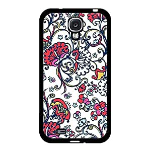 Samsung Galaxy S4 I9500 Shell,Elegant Graceful Flower Picture Mobile Phone Case Snap on Samsung Galaxy S4 I9500