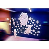 StyroShapes Snow Flakes - 7 per layer - 1'' thick, 105 total per Case