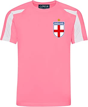 Camiseta de fútbol para niños Personalizable, diseño de Inglaterra ...
