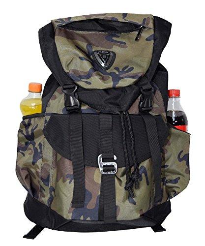 Freizeitrucksack Camouflage 34x20x50